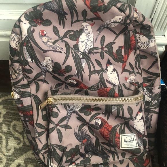 0a70fd96097 Herschel Supply Company Handbags - Herschel Bird Print Backpack